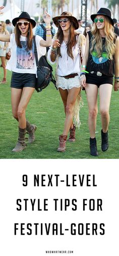 Don't get caught wearing the same thing as everyone else at Coachella with these 9 style tips.