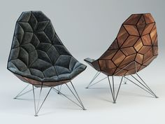 3D Modeling How to / The JSN Tiles Chair - 3D Architectural Visualization & Rendering Blog