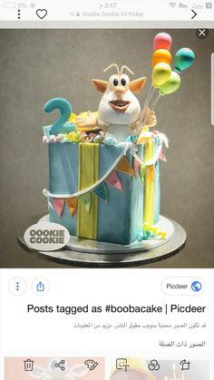 Cartoon Birthday Cake, Twin Birthday Cakes, Kids Birthday Themes, Birthday Party Tables, Boy Birthday Parties, Baby Boy Cakes, Girl Cakes, Royal Icing Cakes, Anime Cake