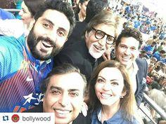 #livinglegends #amitabhbachchan #sachintendulkar And #mukeshambani all in one Frame !!#Selfieofthecentury  #Repost @bollywood  Mr Mukesh Ambani Amitabh Bachchan and Sachin Tendulkar celebrate India's victory at Eden's Garden @Bollywood  . . #instabollywood #bollywood #india #indian #desi #bollywoodactress #mumbai #edensgarden #indiavspakistan #pakistan #pakistani #lahore #karachi #islamabad #indvspak #viratkohli #yuvrajsingh #sureshraina #rohitsharma #wt20 #worldcup #worldt20 #dhoni…