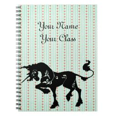 Mythical Unicorn Note Books