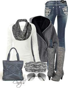 Grey fashion