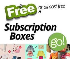 35 Completely Free Subscription Boxes and other cheap boxes. Free Subscriptions, Beauty Box Subscriptions, Free Stuff By Mail, Get Free Stuff, Cheap Subscription Boxes, Jobs For Housewives, Free Boxes, Free Things