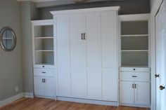 murphy bed - the second bedroom is meant to function as both guest bedroom and office.