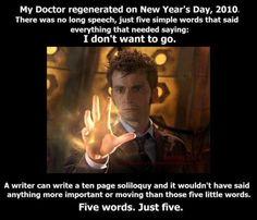 My doctor...