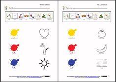 MATERIALES - Los colores.    Actividades para reconocer los colores primarios y secundarios.    htp://www.catedu.es/arasaac/materiales.php?id_material=320