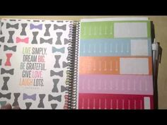 ▶ How I Organize My Erin Condren Life Planner - YouTube