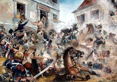 War by the People, Madrid, 2 May 1808 - Justo Jimeno. It has some historical errors, no cuirassiers in Spain AFAIK but it's one of those paintings you can look at for 15 minutes without getting bored.