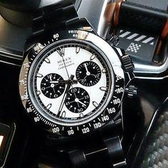Black Rolex Daytona. #thegmi #thegentlemansinc www.thegentlemansinc.com