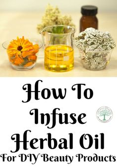 Making your own lotions, soaps, or lip balms may require you to infuse herbal oil first. Learn 5 easy to use methods here! The Homesteading Hippy via The Homesteading Hippy and skincare Natural Home Remedies, Herbal Remedies, Hair Remedies, Natural Medicine, Herbal Medicine, Beauty Care, Diy Beauty, Herbal Oil, Homemade Beauty Products