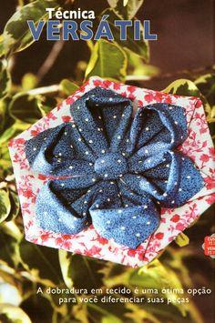 Sabor de vida de segunda a sexta feira s 15h na rede aparecida flor de dobradura confraria do patchwork projetos fabric origamifabric manipulationfabric flowerstiaraspatchworksewing mightylinksfo