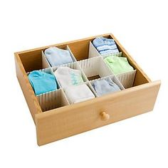 Organizing the drawers in your home is a snap with our Inerlocking Drawer Organizers.  They're easy to use - just measure to fit your drawer then snap off the extra length.  You can join pieces together to create openings in virtually any combination.  The Large Custom Drawer Organizers (shown) are ideal for use in clothing drawers; use the Small Custom Drawer Organizers for utensil or desk drawers.