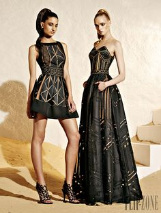 Zuhair Murad Resort 2015 Fashion Show Collection: See the complete Zuhair Murad Resort 2015 collection. Look 14 Look Fashion, Daily Fashion, High Fashion, Fashion Show, Fashion Design, Fashion Edgy, Net Fashion, Fashion Glamour, Fashion 2015