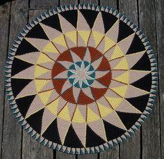 Avatari  - tapestry crochet rug