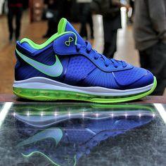 """Nike LeBron 8 v/2 Low - """"Sprite"""""""
