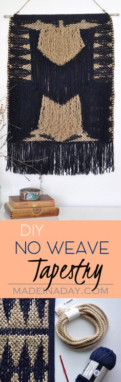 DIY Tapestry from a