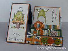 side step card - cute!