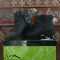 Black Booties Sam Edelman black booties. Worn twice. Sam Edelman Shoes Ankle Boots & Booties