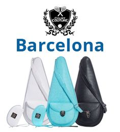Court Couture Barcelona Tennis Bags for Women