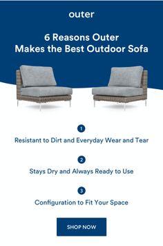 Outdoor Sofa, Outdoor Spaces, Outdoor Living, Outdoor Furniture, Outdoor Decor, Commercial Planters, Beautiful Dolls, Sun Lounger, Backyard