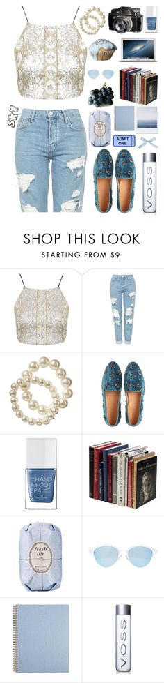 """Street"" by skyl19 ❤ liked on Polyvore featuring Topshop, Old Navy, Antik Batik, The Hand & Foot Spa, Fresh and Quay"