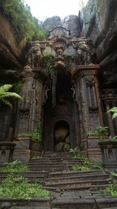 Ancient Architecture, Beautiful Architecture, Beautiful Buildings, Beautiful Ruins, Baroque Architecture, Abandoned Houses, Abandoned Places, Abandoned Castles, Abandoned Mansions