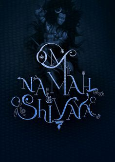 OM NAMAH SHIVAYA TYPOGRAPHY by Enki, via Behance
