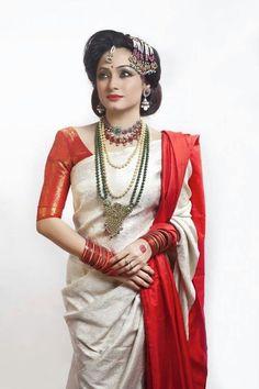 Simple Ai Buro Baat look in Bangladesh #Bengali bride#Sujana Khan model