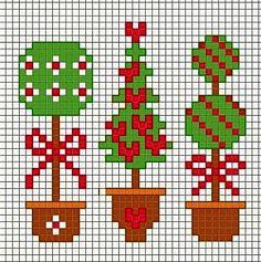 schema+facilissimo+a+punto+croce+tema+Natale+10.jpg (385×387)