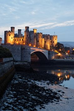 13th century castle, Conwy, Wales Check out some stunning holiday cottages in #NorthWales, #ConwyValley and #Snowdonia http://www.qualitycottages.co.uk/north-wales/cottages-north-wales.php