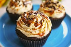 Chocolate and Salted Caramel Cupcakes