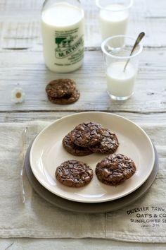 Chocolate brownie cookies, delicious¡¡    www.foodandcook.net