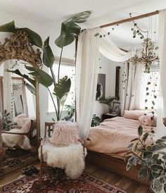 Legend Beautiful Bohemian Bedroom Decor to Inspire You ., Legend 33 + Beautiful bohemian bedroom decor to inspire you . - Legend 33 + Beautiful bohemian bedroom decor to inspire you # bedroo . Bohemian Bedroom Decor, Bedroom Inspo, Home Bedroom, Master Bedroom, Modern Bedroom, Bedroom Inspiration, Garden Bedroom, Bohemian Studio Apartment, Zen Room Decor