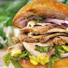 Authentic Peruvian Butifarra Sandwich Recipe. Find more Peruvian recipes at www.perualacar..., ,