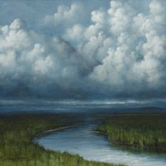 Cloudy Stream - Tim Gagnon
