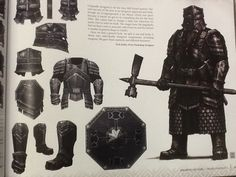 Nick Keller of Weta on the Moria dwarf armor for The Hobbit. Fantasy Dwarf, Fantasy Armor, Medieval Fantasy, Dwarven Armor, Larp Armor, My Fantasy World, High Fantasy, Hobbit Art, The Hobbit