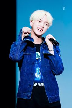 blue aesthetic // BTS JIN © fansite *watermarked*