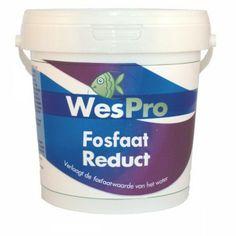 WesPro Fosfaat Reduct is een zeer effectief filtermateriaal wat fosfaten (PO4) absorbeert uit uw water en waarmee u alg en ziekten minder kans geeft zich te ontwikkelen - www.wesdijk.nl