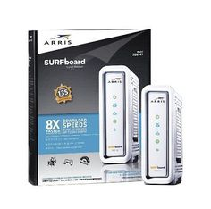 ARRIS SURFboard SB6141 DOCSIS 3.0 Cable Modem - White
