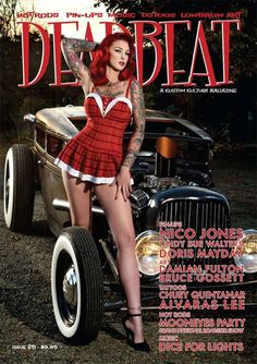 Deadbeat is an Australian based quarterly magazine featuring the best of the best in kustom kulture globally.