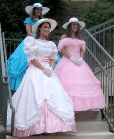 My crossdressing group is holding an old fashioned, southern cotillion. I spent hours preparing and dressing but it's such a thrill that I'd do it every day. Frilly Dresses, Satin Dresses, Pretty Dresses, Beautiful Dresses, Pink Dress, Southern Belle Dress, Civil War Dress, Vintage Prom, Fantasy Dress