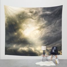 Cloudio Di Porno III Wall Tapestry by HappyMelvin | Society6