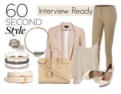 """Interview style CBA2"" by eastlyn-megan ❤ liked on Polyvore featuring Topshop, LE3NO, WearAll, H&M and Yves Saint Laurent"