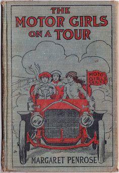vintage Motor Girls book cover
