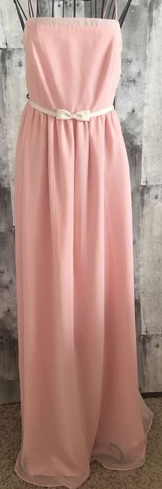 NWT Forever Yours Expressions Evening Gown Dress Bridesmaid Formal Pink Size 10 #ForeverYours #GownEveningGown #FormalBridesmaid