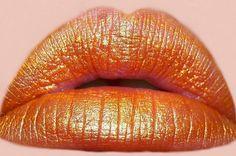 pumpkin orange moisturizing lipstick halloween all. Coral Lips, Orange Lipstick, Orange Makeup, Gold Lips, Beauty Tips Quotes, Beauty Hacks Video, Orange Color Schemes, Orange You Glad, Flawless Beauty
