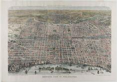 Philadelphia Museum of Art - Collections Object : Bird's-Eye View of Philadelphia