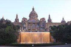 Barcelona - Montjuïc MNAC (National Art Museum of Catalonia)   Экскурсии Барселона ! Отдых Барселона ! Русский гид #Испания #Барселона http://viva-tour.net/excursions-in-catalonia/