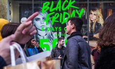 Black Friday: shoppers delay spending until discount day, data suggests