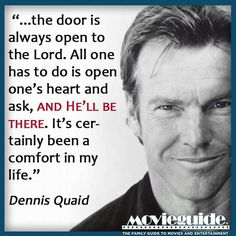 Wisdom Sayings & Quotes QUOTATION - Image : Quotes Of the day - Description Amen! Dennis Quaid quote Sharing is Caring - Don't forget to share this quote Faith Quotes, Wisdom Quotes, Bible Quotes, Bible Verses, Scriptures, Quotable Quotes, Great Quotes, Inspirational Quotes, Motivational